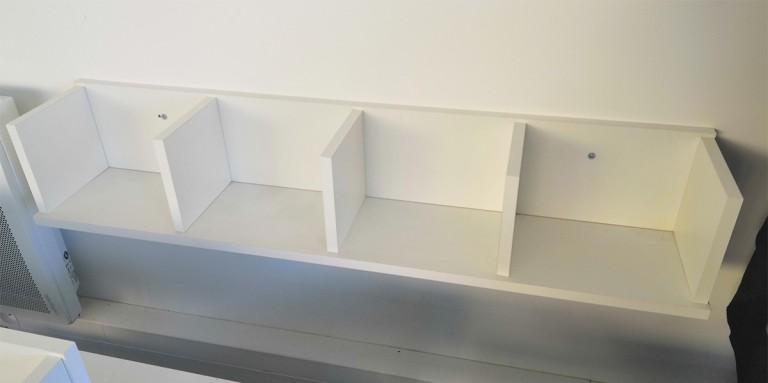 étagère blanche