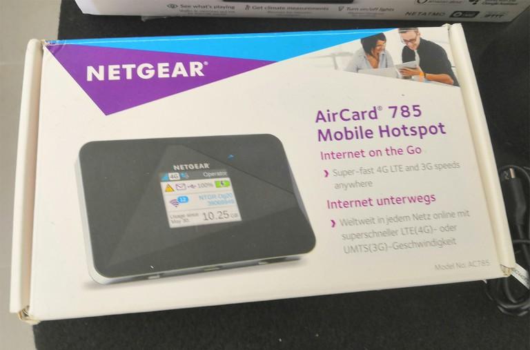 Netgear aircard